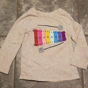 Xylophone rainbow long sleeve